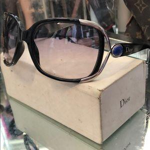 Christian Dior Copacabana sunglasses w/case